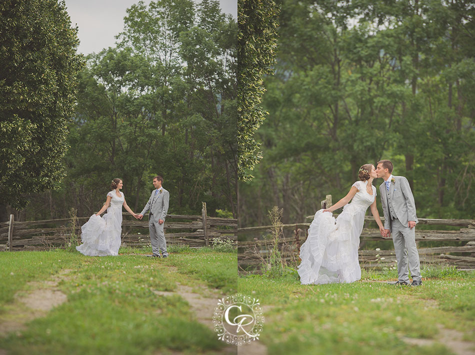 Country Heritage Park Gambrel Barn Milton Wedding Photographer Kelsey Amp Mike Christine Reid