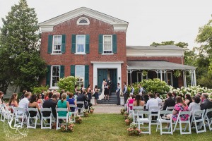 MacKechnie House Wedding Cobourg Ontario Venue